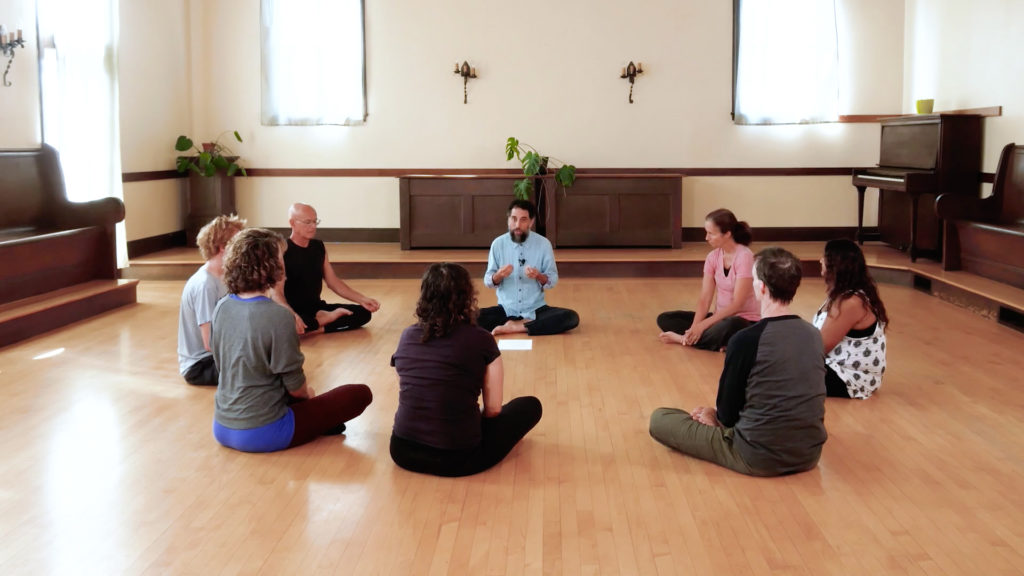 Sean Feit Oakes, Hatha Yoga and Buddhism Instructor